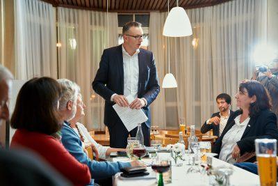Bea Böhlen,Andreas Schwarz, Grüne, Baden-Baden, Fraktionssitzung, Bürgerbeteiligung